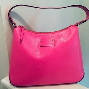 Pink Kate Spade Leather Handbag
